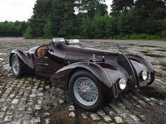 1938 Alfa Romeo 6C 2300B Mille Miglia Spyder.  ★。☆。JpM ENTERTAINMENT ☆。★。