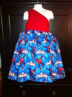 Spider-Man dress by Coco's Monkey Creations