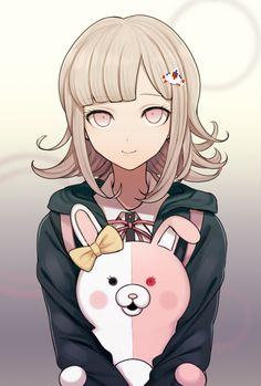 Chiaki is undisputed best girl in Danganronpa 2 Chica Anime Manga, Manga Girl, Anime Art, Danganronpa Characters, Anime Characters, Otaku, Anime Amino, Nanami Chiaki, Super Danganronpa