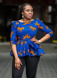 This item is unavailable African Wear Dresses, African Fashion Ankara, Latest African Fashion Dresses, African Print Fashion, Africa Fashion, African Attire, African Blouses, African Tops, African Style