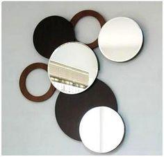 Edith Speciali - Ambientaciones: Espejos circulares