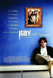 Igby Goes Down (2002)  A young man's peculiar upbringing renders him unable to competently cope with the struggle of growing up. Director: Burr Steers Writer: Burr Steers Stars: Kieran Culkin, Susan Sarandon, Jeff Goldblum