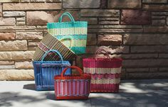 New Arrivals at Kneeland Mercado: Recycled Plastic Market Bags