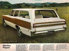 1968 Plymouth Satellite Sport Wagon ad