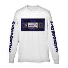 7e6c4c7da9 VHS Entertainment Tape Long Sleeve Waterparks Band, Band Tees, Band Merch,  My Christmas