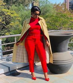 Jumpsuit, Red, Color, Dresses, Style, Fashion, Overalls, Vestidos, Swag