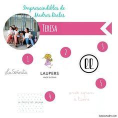 """@teresaloboarregui nos cuenta sus #imprescindiblesdemadresreales  """"Soy Teresa, madre de 3 niños y una niña, desde que soy madre ir de compras supone terminar siempre en la sección infantil de las tiendas,  Aquí tenéis mis 5 marcas españolas imprescindibles para esta temporada :  1. @la_senoritals 2. @lauperskids 3. @llanashop  4. @lacasitadelpalomar 5. @onceuponatimekids  #buenasmadres #compartetuexperiencia #modaniños #fashionkids #otoño #invierno #otoñoinvierno"""