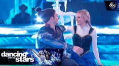 """Heather Morris and Alan Bersten Jazz to """"For The First Time In Forever"""" by Kristen Bell & Idina Menzel (FROZEN) on Dancing with the Stars' Season 24 Disney N..."""