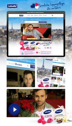 """Idee, Kreation und Umsetzung einer Digital-Kampagne """"Der Franzose"""" mit Landingpage inkl. interaktiven Videos, Viral Spot Produktion und Hörfunkspot für Österreich, Neuseeland und Australien. Butter, Videos, Filters, Lips, New Zealand, Preserve, Video Clip"""