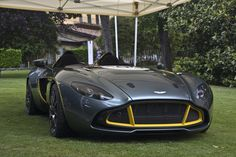 ❦ (via Aston Martin wants to have £500.000,- for the CC100)