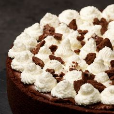 Cakes That Look Like Food, Love Food, Mini Cheesecake Recipes, Dessert Recipes, Chocolate Cake Video, Chess Cake, Confort Food, Sweet Bakery, Little Cakes