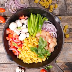One Pot Pasta - GreenGoddessGuide Healthy Dishes, Easy Healthy Dinners, Healthy Cooking, Healthy Recipes, Big Mac Sauce Recipe, Fast Cooker, One Pot Dinners, Pot Pasta, Vegan Comfort Food