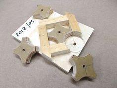Another Knob Making Jig / Un autre gabarit pour réaliser des boutons