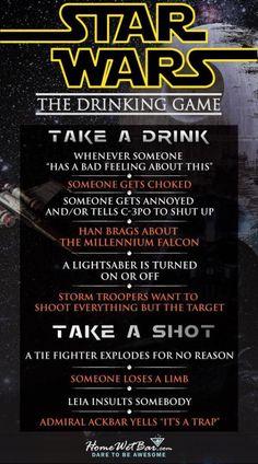 Star Wars Drinking Game