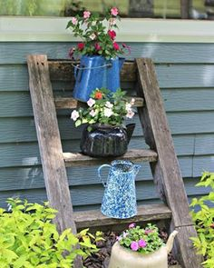 how to add vertical interest to your flower beds containers container gardening flowers gardening how to outdoor living #