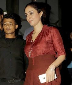 Tabu at #Baaghi success bash. #Bollywood #Fashion #Style #Beauty #Hot