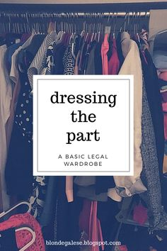 blondegalese: Dressing the Part: A Basic Legal Wardrobe- Tap the link now to see our super collection of accessories made just for you!
