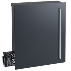 edelstahl design briefkasten 226p a exklusive design linie post hnl ral 7016 anthrazit. Black Bedroom Furniture Sets. Home Design Ideas