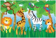 Ravensburger Jungle Party (24 pc Super Sized Floor Puzzle)
