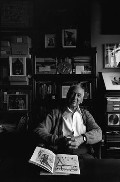 I LOVE portraits of people in their work/creative space and Arnold Newman was a master at it.    Andre Kertesz, New York, 1980, by