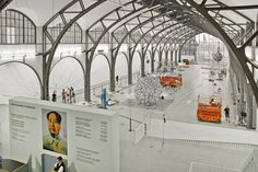 Hamburger Bahnhof, het voormalige treinstation van Berlijn is sinds 1996 het Museum voor Hedendaagse Kunst in Berlijn.