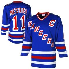 9fc20258a45 Mark Messier New York Rangers Mitchell   Ness Throwback Authentic Vintage  Jersey With 1994 Stanley Cup