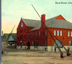 Byrd Street (Union) Depot, Richmond, Va. :: Rarely Seen Richmond