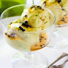 Avocado lends a perfect smooth and creamy texture to this delicious treat that's healthy too!