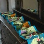 DIY Knotted Table Runner