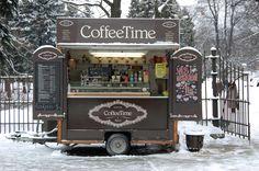 Coffe place in a park, Riga.