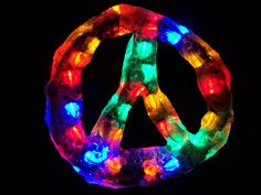 Peace light marbles