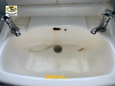 This old pressed steel wash basin in a residential home in every day use has been recently repaired and restored by our skilled Technician in situ. Wash Hand Basin, Restoration, Bath, Steel, Vanity Sink, Bowl Sink, Bathing, Sink, Bathroom