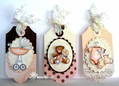 Baby Tags by girlydecou - Cards and Paper Crafts at Splitcoaststampers