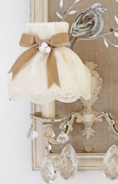 Abat Jour Shabby 51 best abat-jour conique shabby chic, lampshade french boudoir