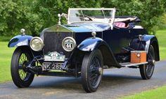1921 Rolls-Royce 45/50hp Silver Ghost Drophead Coupe with dickey