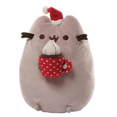 Gund Pusheen 10 inch Christmas Snackable Plush
