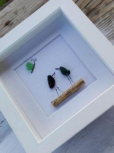 Pebble art miniature pebble art birds birds miniature image