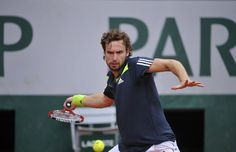 Who'd want to be a tennis ball when Gulbis is playing?