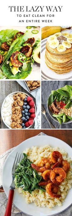 Set up next week for success with this seven-day clean-eating plan. Clean Eating Detox Plan, Clean Eating Pizza, Healthy Eating Plans, Clean Eating Vegetarian, 21 Day Clean Eating Challenge, Detox Meal Plan, Vegan Recipes Healthy Clean Eating, Healthy Delicious Recipes, Clean Eating Food List