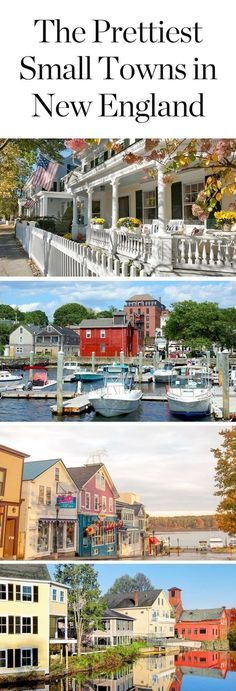 The Prettiest Small Towns in New England via @PureWow