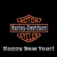 happy new year harley davidson