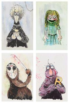 The Curious Brain » Puppet Horror