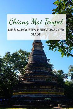 Chiang Mai Tempel Pinterest Bild