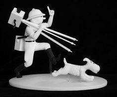 tin tin statuette - Google Search