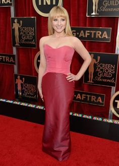 Pin for Later: See All the Stars on the SAG Awards Red Carpet! Melissa Rauch