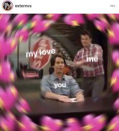love memes for him ; love memes for him funny ; Memes Amor, Memes Lindos, Heart Meme, Cute Love Memes, Crush Memes, Crush Funny, Cute Messages, Relationship Memes, Wholesome Memes