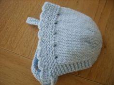 knit bonnet by kara