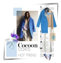 """""""Hot Trend: Cocoon Coats"""" by claudiakohl ❤ liked on Polyvore featuring Emilio Pucci, Uniqlo, McQ by Alexander McQueen, Linda Farrow, Fendi, Disney, women's clothing, women, female and woman"""