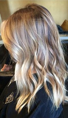 2015 hair trends - hair before and after blog - natural blonde highlights