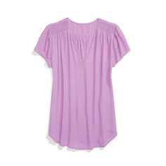 Stitch Fix Style: . Love the fit and cut of this shirt, but maybe another color.